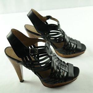 Jessica Simpson Dalanco Sandals 8.5 Black